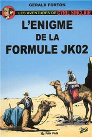 Cyril Sinclair T01, l´énigme de la formule JK02
